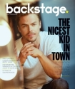 Derek on the cover of Backstage magazine - November 30, 2016