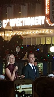"""We just saw @derekhough & @juliannehough from DTWS so thats cool"" - November 12, 2016 Courtesy jainavanhorne twitter"