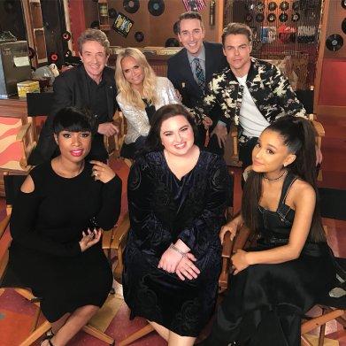 Derek Hough, Ariane Grande, Maddie Baillo, Jennifer Hudson, Martin Short & Kistin Chenoweth - Hairspray Live! - November 28, 2016