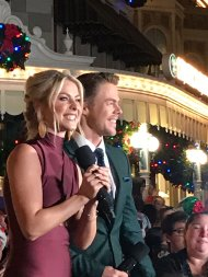 """When the obsession is real 😍 @derekhough @juliannehough"" - November 12, 2016 Courtesy lilileanna twitter"