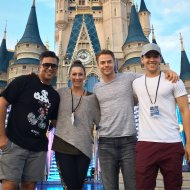 """We about to do this Team!!!! Let's Go! #ABCDisneyHolidaySpecial @derekhough @kylehanagami @nappytabs #CreativeDirectors"" - November 12, 2016 Courtesy nappytabs twitter"