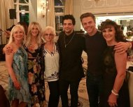 """""""The last few days of celebration has been epic... Congrats to Mark and BC...#celebrating #wedding#Markballas#Shirleyballas #BC #Derekhough #juliannehough #marriannhoughnelson"""" - November 25, 2016 Courtesy paintvalues IG"""