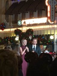 """Idk what's happening but Julianne and Derek Hough are at Magic Kingdom right now"" - November 12, 2016 Courtesy witchhplease twitter"