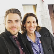 """#derekhough #dancingwiththestars #superstar #dancer #mymomwillbeproud Lookie! Lookie! ❤️️"" - December 29, 2016 Courtesy b_uprightandhappy IG"