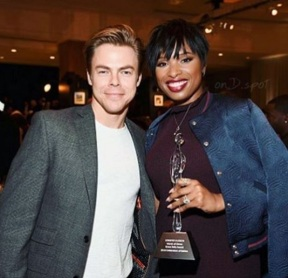 """Supporting new friends #marchofdimes @iamjhud"" - December 9, 2016 Courtesy derekhough IG"