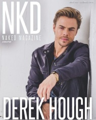 """""""Pleasure being on the cover of @nkdmag December issue. One of the easiest shoots I've ever been a part of. You guys are great! Link in bio 👇🏼#cover #magazine #nkd #dwts #worldofdance #hairspraylive #naked #butnotnaked #shouldIBeNaked? #livewithpassion #TodayIAm"""" - December 2, 2016 Courtesy derekhough IG"""