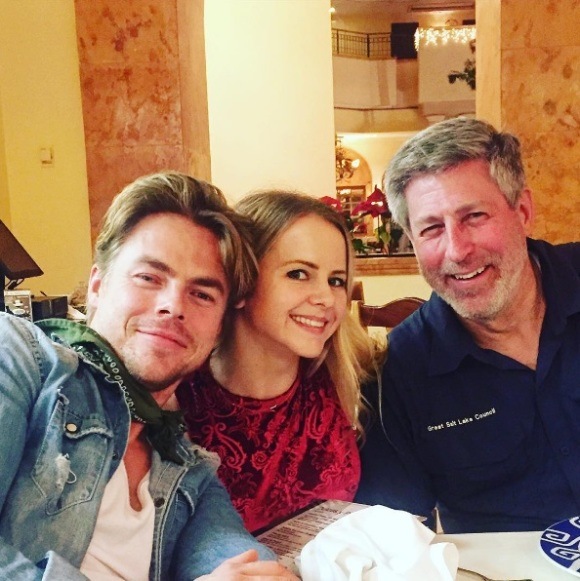"""What a small world!! I bumped into the Hough's family and @markpulse in Merida, Mexico! Was great meeting you @brucehough and always pleasure to see @derekhough. Safe travels 🙏🏼 #houghsandwich #greattime #merida #mexico #friends #traveling #fun #experience ✨"" - December 16, 2016 Courtesy ekfedosova IG"