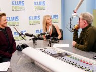 """""""We are ON-AIR with @juliannehough and @derekhough!"""" - December 16, 2016 Courtesy elvisduranshow twitter"""