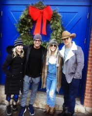 """A little Park City Main Street shopping! @juleshough @derekhough @michaelpoole47"" - December 28, 2016 Courtesy marabethpoole IG"
