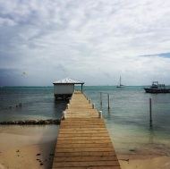 """Current status: #belize #sanpedro #travel #adventure #beach"" - December 20, 2016 Courtesy markpulse IG"