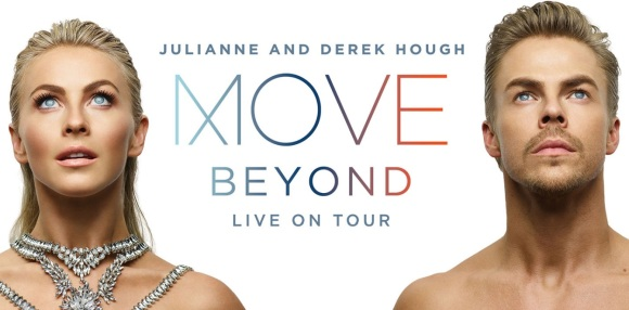 The official promo poster for MOVE Beyond Live on Tour with Derek and Julianne Courtesy Move Live On Tour website