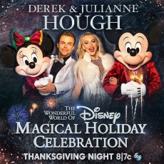 "Derek and Julianne Hough - Poster for ""The Wonderful World of Disney: Magical Holiday Celebration"""