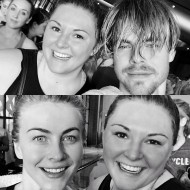 """Another awesome workout with these two! Thank you so much @derekhough and @juleshough it was a blast! #hangingwiththehoughs #moveinteractive #soulcycle #fitness"" - January 21, 2017 Courtesy thealexislemos IG"
