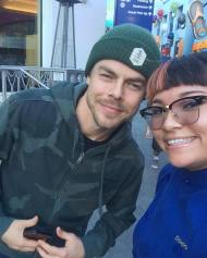 """Sweet so nice Derek hough🔥#derekhough"" - January 22, 2017 Courtesy : bina_lee ig"