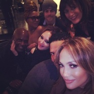 """Celebrating my Benny!!! #FamBam #happybirthdayBenny"" - January 24, 2017 Courtesy jlo IG"