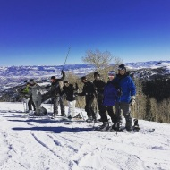 """Great way to end 2016 with family and friends!! #parkcity #family #epic #newchapterbegins"" - December 31, 2016 Courtesy katherineh82 IG"