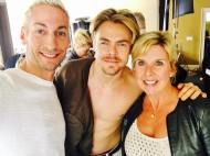 """Gonna go ahead and put these right here. 😜 Thank you Derek Hough for giving Fynnton Gray such a memorable day! And great to see you again too Julianne Hough!"" - January 19, 2017 Courtesy Kenn Gray Facebook"