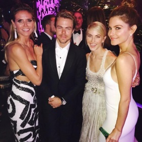 """""""#Instyle party #goldenglobes"""" - January 8, 2017 Courtesy mariamenounos IG"""