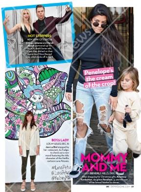 Derek and Julianne on OK Magazine - January 9, 2017