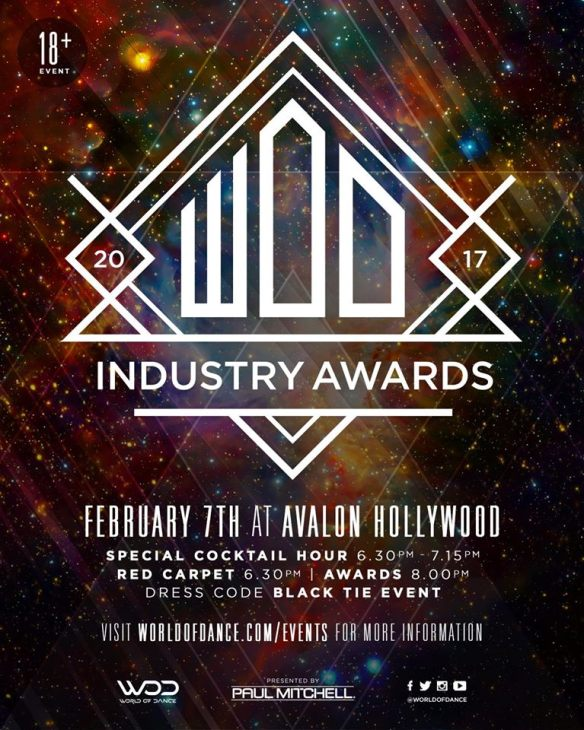 World of Dance Industry Awards 2017
