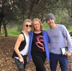 """""""Thank you for another awesome #moveinteractive @juleshough and @derekhough! I loved getting to chat with you, Julianne! ❤ I really enjoy these workouts and I can't thank you enough for doing them!"""" - February 11, 2017 Courtesy laurenhouseworth IG"""