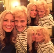 """""""Love this lady more than I can say! It all started with her! #grandma #maketimestop #angel"""" - February 26, 2017 Courtesy shareewise IG"""