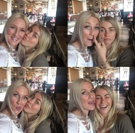 """""""Love my baby sister! She will always be one of my baby's! #seriousgoofballs @juleshough"""" - February 26, 2017 Courtesy shareewise IG"""