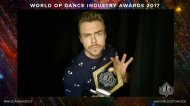 """Follow the Movement at #WODawards17 with @WorldOfDance #WODSelfie"" - February 7, 2017 Courtesy worldofdance twitter"