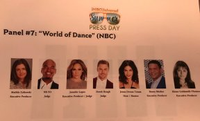 """The #WorldOfDance crew. This is who is expected on today's panel. #NBCUSummer"" - March 20, 2017 Courtesy kristynburtt twitter"
