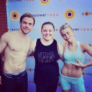 """#moveinteractive with my faves @derekhough and @juliannehough It got real hot in there!"" - March 11, 2017 Courtesy thealexislemos twitter"