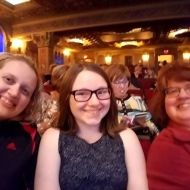 "chrysy1618: ""About to see Derek and Julianne Hough at the Louisville Palace!!!! 💖💖💖💖#movebeyondtour #movebeyond #family #moveliveontour"""