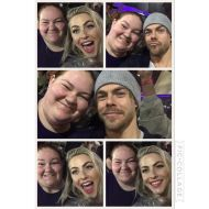 """""""@juleshough and @derekhough you guys truly know how to put on a show! It was so great getting to meet y'all again! You guys were definitely worth the rain! ❤️❤️ #derekhough #movebeyond #juliannehough"""" courtesy jessitomblin ig"""