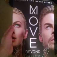 """""""Absolutely loved #moveliveontour with #juliannehough and #derekhough. Just an absolute treat and the stars couldn't have been nicer! #movebeyond #dancingwiththestars #choreography #broadway"""" courtesy johnthepopa ig"""