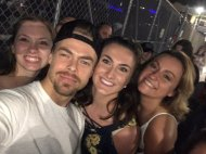 """So I guess you could say it was a pretty great 21st birthday🎉 @derekhough"" - Move Beyond - Detroit, Michigan - April 23, 2017 Courtesy JordynTaylor23 twitter"
