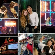 """I couldn't have asked for a better birthday present with an unexpected ending.. thanks babe for everything and always making sure I am happy. Tonight was a night I'll never forget and one of the best experiences yet. I'm still in shock that I met and hugged Derek Hough.. 😍❤💋"" - Move Beyond - Detroit, Michigan - April 23, 2017"