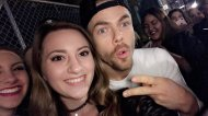 """Such an amazing night at the Move Beyond Tour, even got to meet @derekhough 😍😍"" - Move Beyond - Detroit, Michigan - April 23, 2017 Courtesy morgannicol__ twitter"
