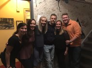 """Wonderful show! Have a great tour! @juliannehough @derekhough @kristysowin #MoveBeyond #dango @TRINN06 @skonicek"" - Move Beyond - Chicago, Illinois - April 22, 2017 Courtesy PatrickPriestAD twitter"