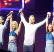 """#moveliveontour #movebeyond @juleshough @derekhough"" - Move Beyond - Rochester, New York - April 26, 2017 Courtesy shannsummers IG"