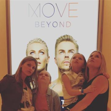 """Channeling our inner Derek and Julianne. Last nights #moveliveontour at the #mgmnationalharbor was seriously amazing! @moveliveontour"" courtesy katiemkilbride ig"