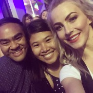"""We just met @juleshough!! Thank you for being so kind...Great show tonight...😘🎉👍🏻😮 #movebeyondtour #movebeyond #dancingwiththestars #blessed #juliannehough"" courtesy vanessa.salonga ig"
