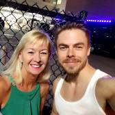 """What a gracious young man & amazing dancer#derekhough#movebeyond#dance#drphillipscenter#movebeyondlivetour"" courtesy leealem ig"