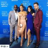 """#Repost @jlo This is ... #worldofdance @jennadewan @neyo @derekhough"" Courtesy Derek's ig"