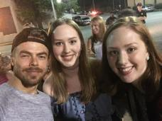 """Move Beyond concert was amazing! And I can't believe I got to meet Derek Hough💙 #moveliveontour #movebeyond"" courtesy brooke_smith30 ig"