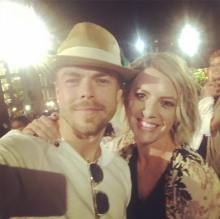 """MUH boyfriend!!! #derekhough #futurehusband #step1 #jk #kinda"" Courtesy lilmissu2 ig"
