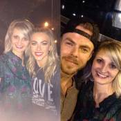 """Julianne and Derek Hough!!!"" Courtesy jessicabreitling ig"