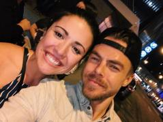 """the happiest moment of my life💕 I love you @derekhough thanks for sharing your amazing talent🕺🏼#hearttoheart"" Courtesy sophiemasica ig"
