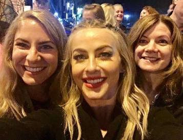 """Ive looked up to her as a dancer and woman since I was little, and tonight I got to meet her! She is a such a light and role model ✨ Move Live and & Beyond was INCREDIBLE. Thanks @juleshough for meeting us after the show! 💕#moveliveontour"" Courtesy mrsmartin283 ig"