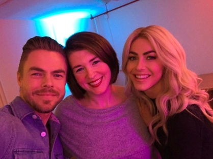 """Two of the most kind and inspiring people. Thank you thank you thank you @juleshough @derekhough #movebeyond @moveliveontour #moveliveontour"" - Move Beyond - Boston, Massachusetts - May 5, 2017 Courtesy abbeyeverafter IG"
