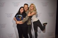 """""""OMG OMG MY PICTURE IS AMAZING @derekhough @juliannehough ❤️❤️❤️"""" - Move Beyond - New York - May 6, 2017 Courtesy alrenjaurnandez twitter"""