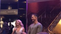 """Her face is so funny omg 😂 #juliannehough #derekhough #moveliveontour"" - Move beyond - New York - May 6, 2017 Courtesy alrenjaurnandez twitter"